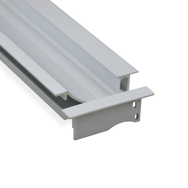 BAPL023 Aluminum Profile - Inner Width 12mm(0.47inch) - LED Strip Anodizing Extrusion Channel